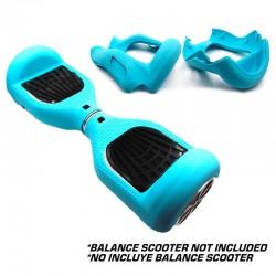 "Capa Silicone Azul Tiffany hooverboard 6,5"""