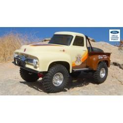 Carro 1/10 SCX10 II 1955 Ford F-100 Truck 4WD RTR, Brown