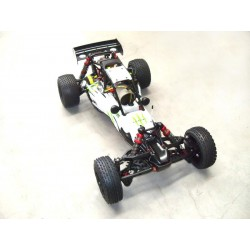 Carro Gasolina 1: 5 Baja Rovan Sports 320A,Motor 2T 32CC White Energy RTR completo