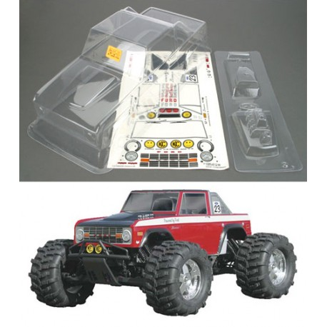 Carroçaria Ford Bronco 1973 Unpainted HPI