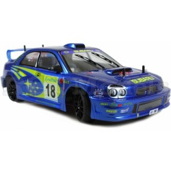 Body, clear, unpainted, Subaru Impreza, ER-1 1/8