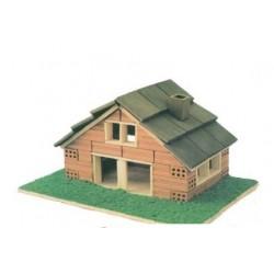 Casa de tijolo modelo 106
