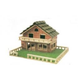 Casa de tijolos modelo 117