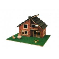 Casa de tijolo modelo 130