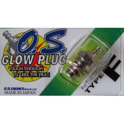 O.S. Type F Glow Plug 4-Stroke Medium, OSMG2692