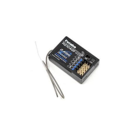 R2104GF receiver, Futaba, 4CH, 2.4 Ghz, 4PL TX