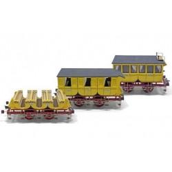 Carroagens de locomotivas Adler - OCCRE