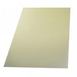 Folha de Fibra de Vidro Transparente 620x540x0.2mm aprox.130gr