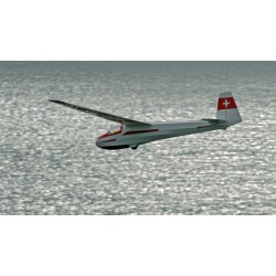Avião Planador K8B 3500m ARF ¼ Escala