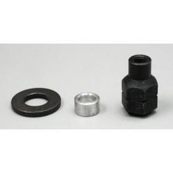 """Spinner Adapter Kit 1/4"""" Supertigre.34-.51, O.S. 20-40FP"""