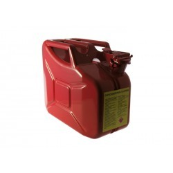 Jerrican Metálico 10L Vermelho