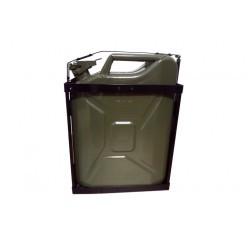 Jerrican Metálico 20 LT verde c/ suporte