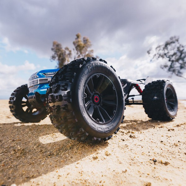 ARRMA Kraton V5 1/8 Monster Truck Brushless 6S 4WD RTR Blue