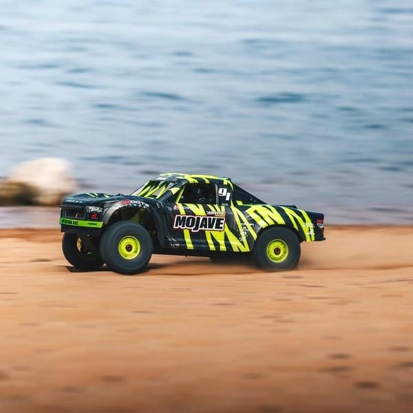 ARRMA Mojave V2 1/7 Desert Truck Brushless 6S 4WD RTR Yellow